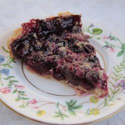 blueberry thyme tart