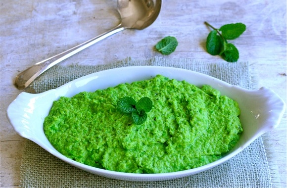 12 Responses to Minted Pea Purée
