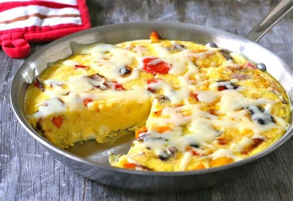 Roasted Pepper Frittata2