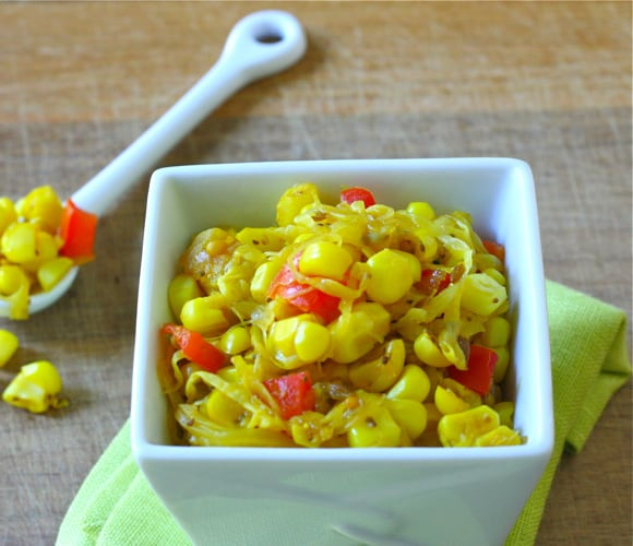Summer Sweet Corn Relish