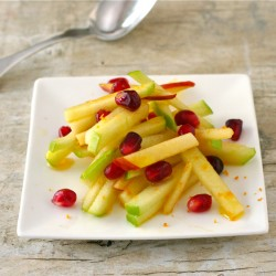Apple and Pomegranate Slaw