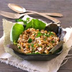 A Warm Lentil Salad