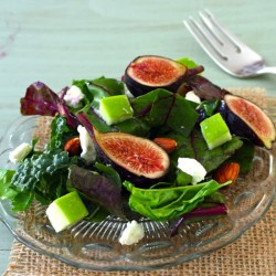 fig-apple-salad
