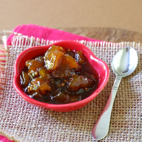 mango chutney, revisited
