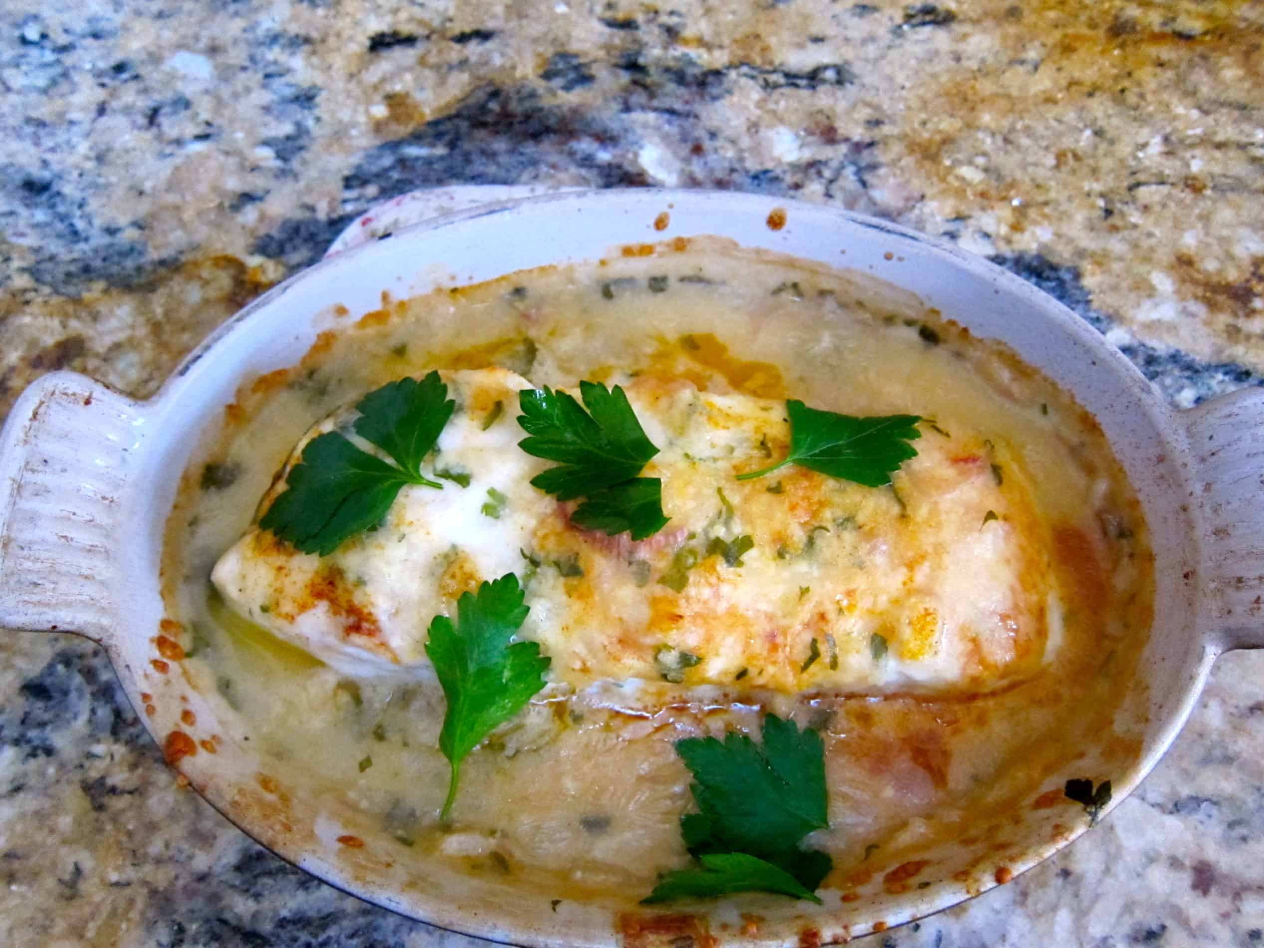Phyllis's Baked Fish: a recipe from my mother's dear friend, Phyllis, who was a superb home cook.
