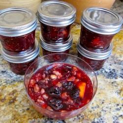 My Mother's Cherry-Raspberry Conserve