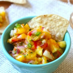 Pineapple-Mango Salsa