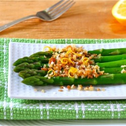 Asparagus with Toasted Bread Crumbs1