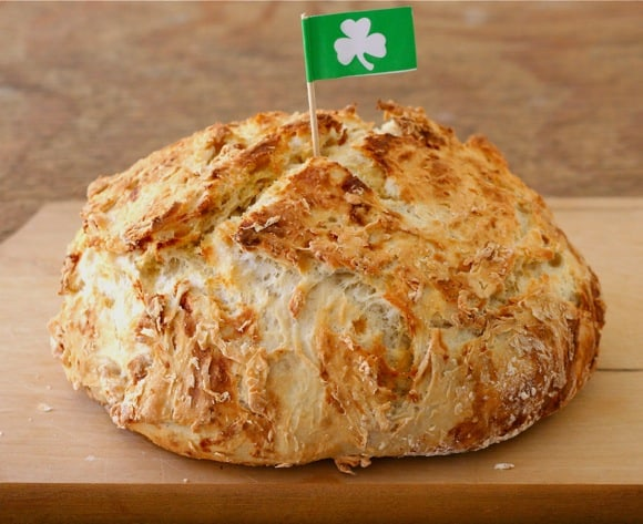 Traditional White Irish Soda Bread Liz The Chef