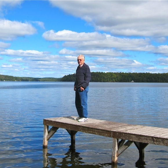 Larry on Long Lake