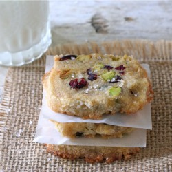 Cranberry Pistachio Icebox Cookies2