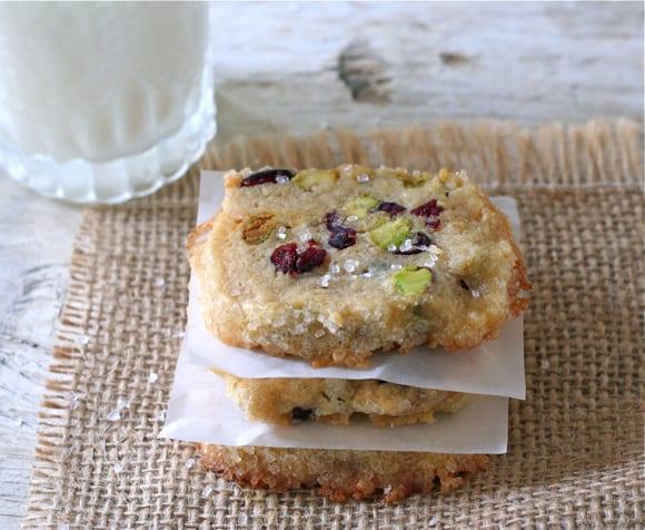 Cranberry Pistachio Icebox Cookies2
