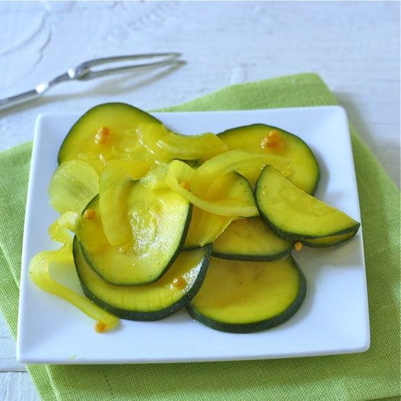 Quick Zucchini Bread-and-Butter Pickles
