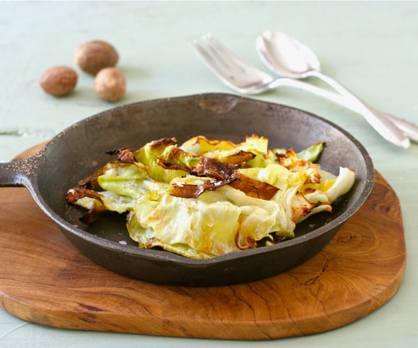 Crispy Roasted Cabbage
