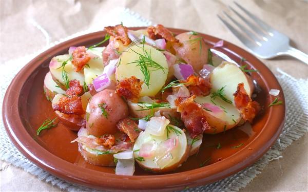 Pennsylvania Dutch Warm Potato Salad