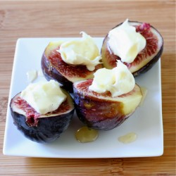 Figs with Mascarpone and Honey